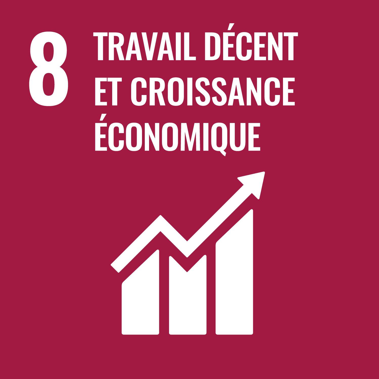 08. travail décent & croissance économique